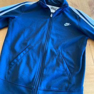 Navy Blue Nike Track Jacket